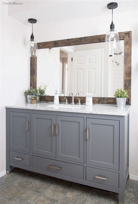 lighting design ideas farmhouse bathroom lighting images about vanity lights on industrial farmhouse bathroom reveal cherished bliss