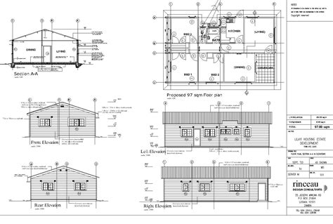 plan elevation front duplex house plans home building