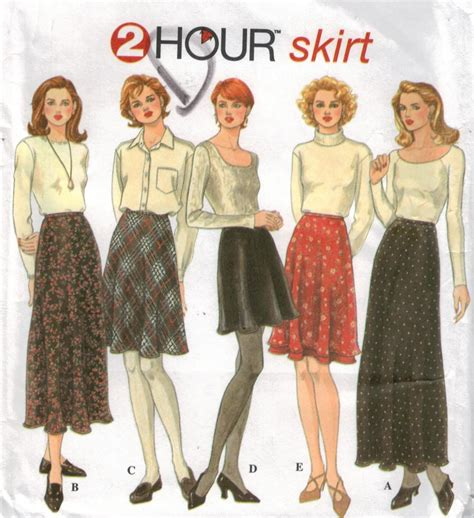pattern for a line long skirt simplicity 9765 easy skirt pattern a line long and short