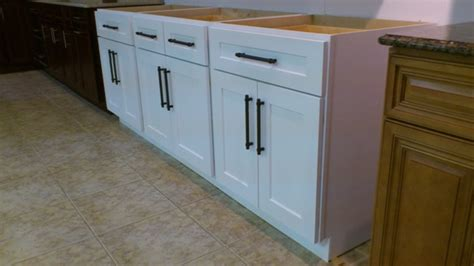 white shaker kitchen cabinets click below for larger rta cabinet broker 3i snow white maple shaker cabinets
