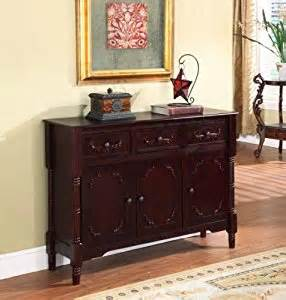 Cherry Wood Buffet Table King S Brand R1021 Wood Console Sideboard