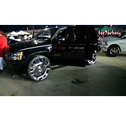 BLACK Chevy Tahoe On 30 DUB Banditos W/ Floating Center