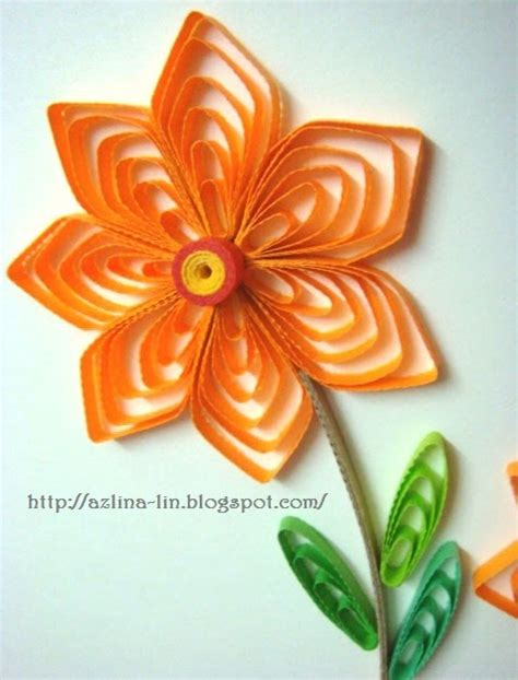 paper quilling tutorial with comb azlina abdul creating cascading loops