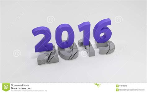 2016 new year change concept stock image cartoondealer