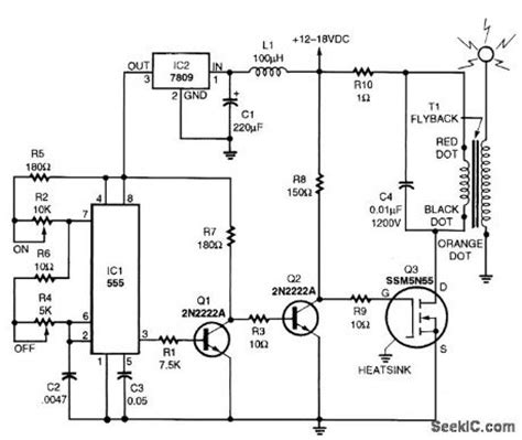 How To Build A Solid State Tesla Coil Solid State Tesla Coil Basic Circuit Circuit Diagram