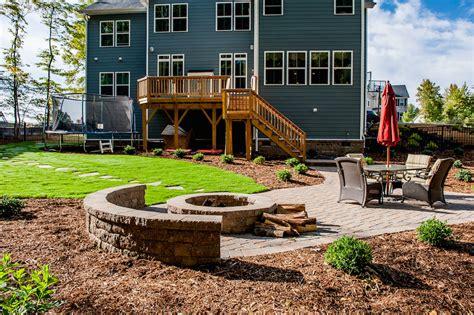 transform my backyard backyard transformation ecogreen landscaping