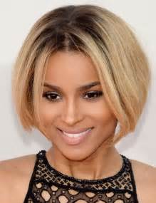 center part bob hairstyle ciara short hair style 2014 bob with center part pretty