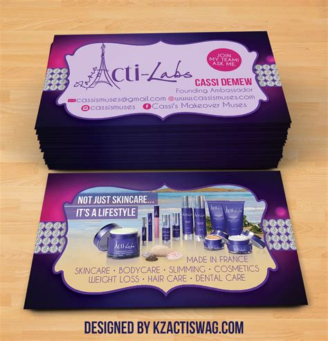 Acti Labs Business Cards