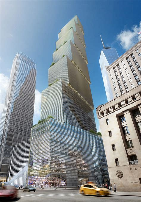 designboom new york big reveals addition to nyc skyline with stepped 2 wtc
