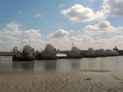 thames barrier trip view of the sunken garden picture of thames barrier park