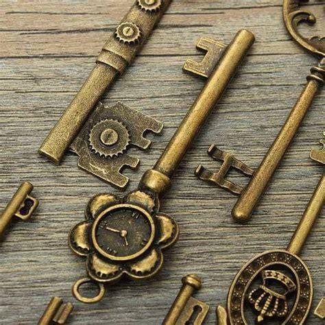 tattoo machine zelf maken producten voor zelf hanger maken antieke sleutels 12stuks