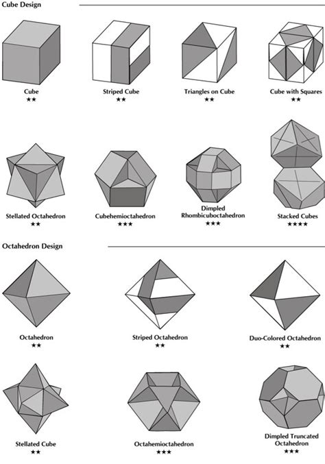 Origami Shapes For - origami geometric shapes comot