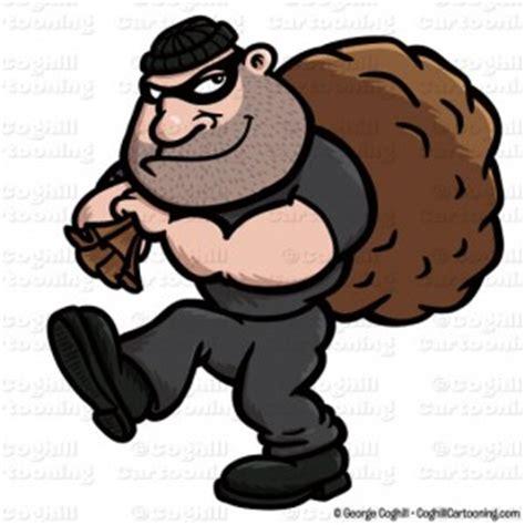cartoon burglar clip art stock illustration coghill