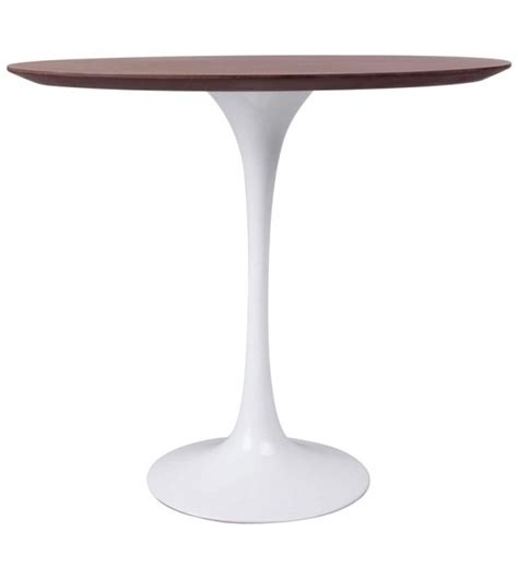 saarinen table basse ovale de bois knoll milia shop