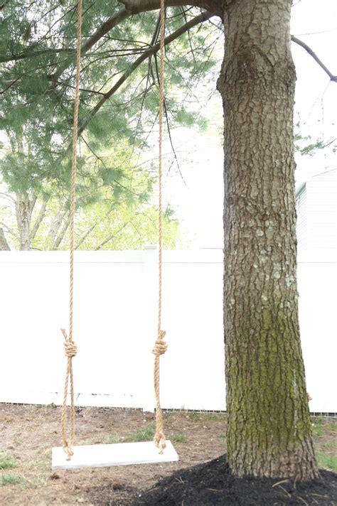 how to make tree swing old fashion diy tree swing seeking lavendar lane
