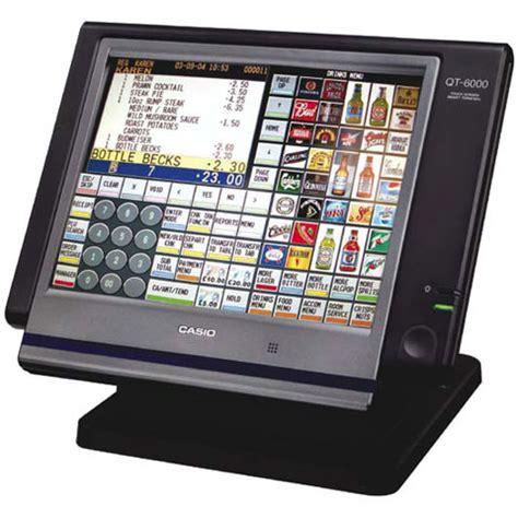 Customer Display Casio Qt 6060d photo of casio qt 6000 pos terminal