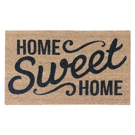 Home Sweet Home Welcome Mat by Home Sweet Home Doormat 18 Quot X30 Quot Threshold Target
