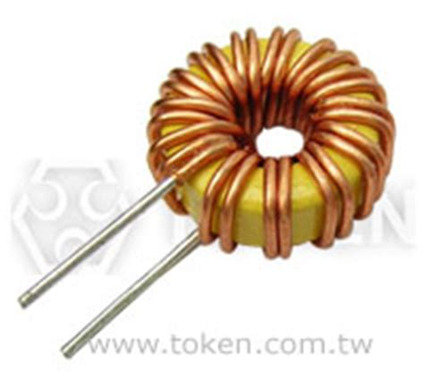 low emi inductor toroidal inductors tctc token components
