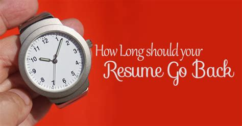 how should your resume go back best guide wisestep