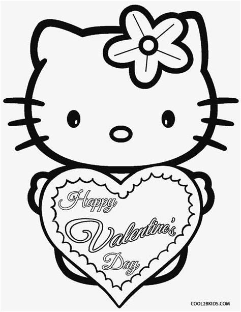 valentines day coloring pages hello kitty hello kitty valentine coloring pages coloring home