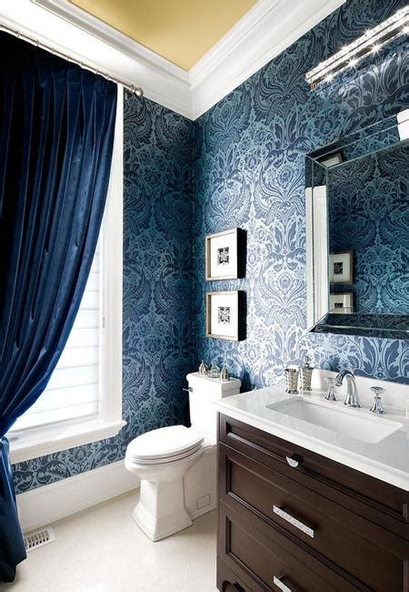 Bathroom Wallpaper Patterns Modern Bathroom Design And Decorating With Wallpaper