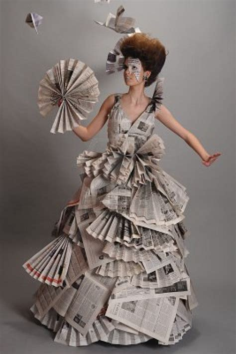 Designer News You You Made It As A Designer When Rumors Fly The Brand Is For Sale Second City Style Fashion by Recycled Fashion Beautiful Newspaper Fashion