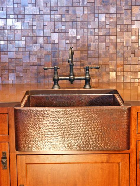 copper kitchen backsplash tiles 30 trendiest kitchen backsplash materials kitchen ideas
