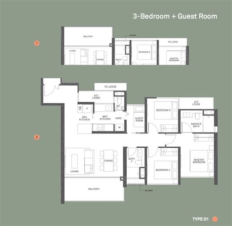 canopy floor plan clement canopy showflat hotline 65 61001778