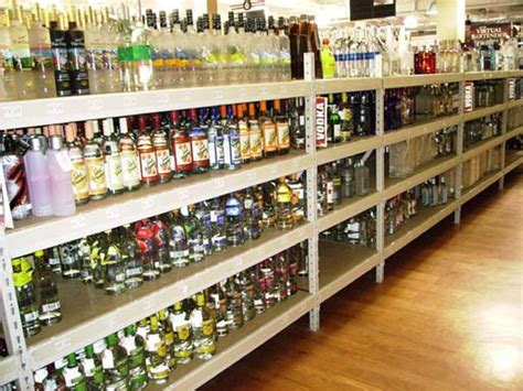 Liquor Store Shelf by Liquor Store Fixtures Displays Liquor Store Design