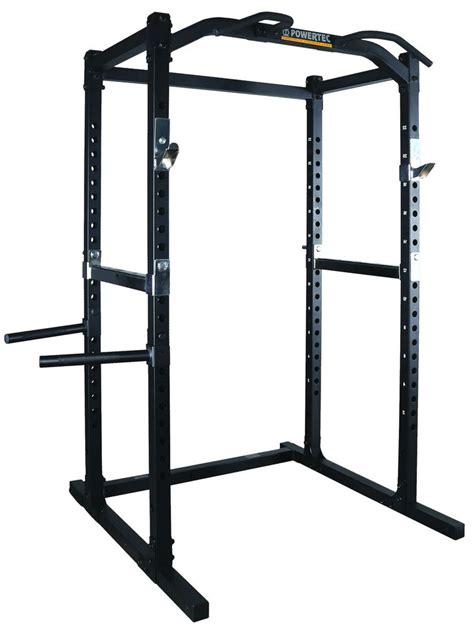 bench power rack powertec power rack wb pr16 squat cage bench press home