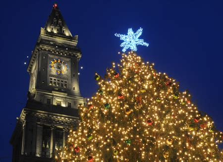faneuil hall tree lighting attracts thousands with images