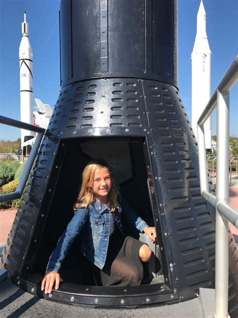 Experience Space Travel At The Astronaut Of Fame by Astronaut Of Fame Kennedy Space Center Travelingmom