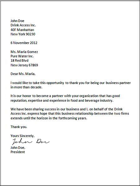 business letter exle news 25 best ideas about business letter format on