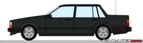Volvo Paint Volvo 740 Gl Black Line 1988 Garaget