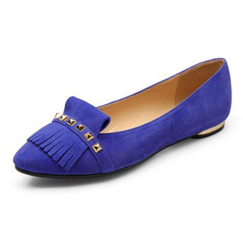 royal blue flats shoes royal blue ballet flats office formal shoe