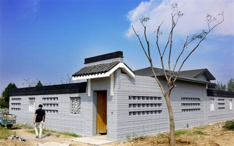 3d print house china 3d printed house makes debut in shandong province