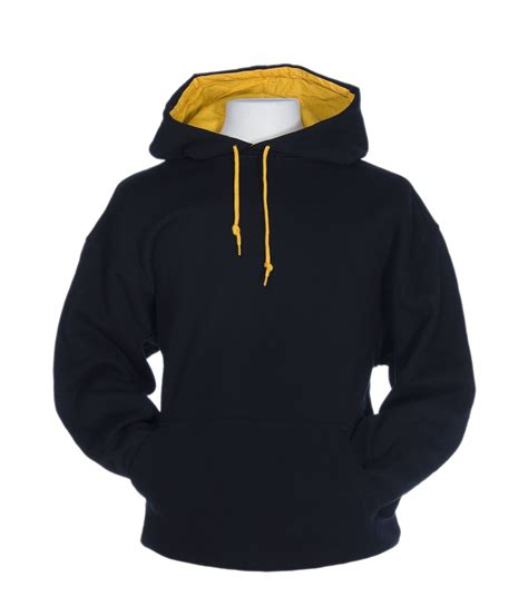 f1023 contrast hoodie