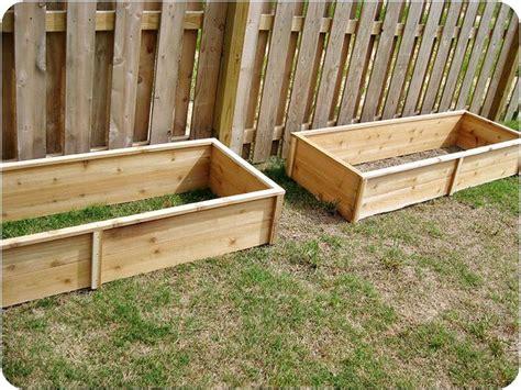 Diy Garden Boxes Gardening Pinterest Diy Vegetable Garden Boxes