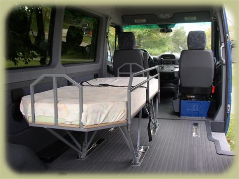 van with bed traveling bed for dodge sprinter van 0 van dwelling