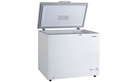 Chest Freezer Merk Sharp product container