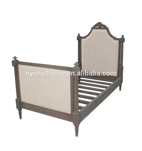 country style bedroom furniture bed oak wood bed