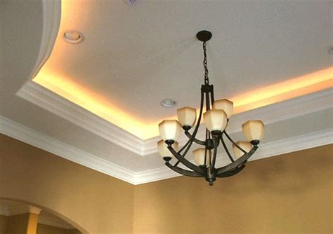 74 best images about tray ceilings on pinterest rope lighting for your crown molding idea put them on