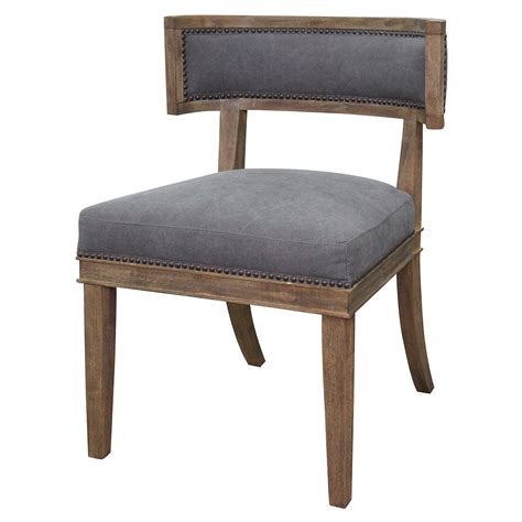 Curved Dining Chair Upholstered Curved Dining Chair Zin Home