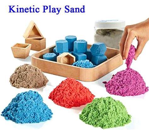 Mainan Edukasi Pasir Box Refill Model Sand Dengan Taman Bermain Anak mainan pasir kinetik dhian toys