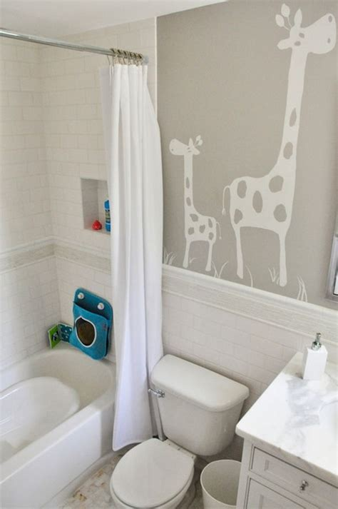 enjoying and relaxing modern kid s bathroom