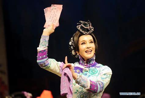 film china s liu xiaoqing chinese actress liu xiaoqing performs quot fenghua juedai quot at