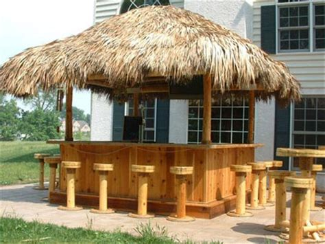 Simple Steps To Build Cheap Tiki Bar Smart Home Backyard Tiki Bar Ideas