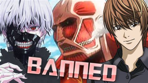 these anime and mangas are officially banned in china