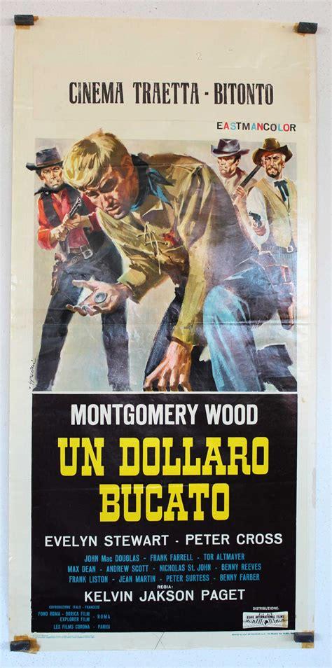 film western un dolar gaurit quot un dolar marcado quot movie poster quot un dollaro bucato
