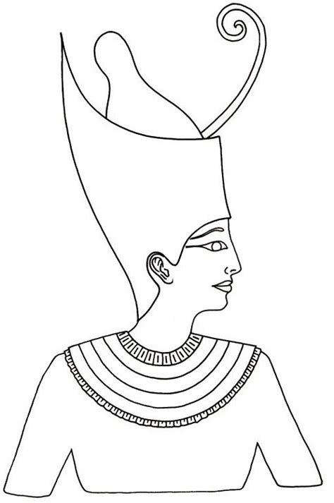 king menes crown to color jpg 498 215 750 social studies